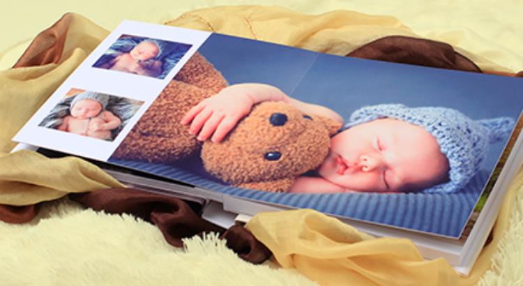 Álbum 180º Flat - diagramação de álbuns infantis