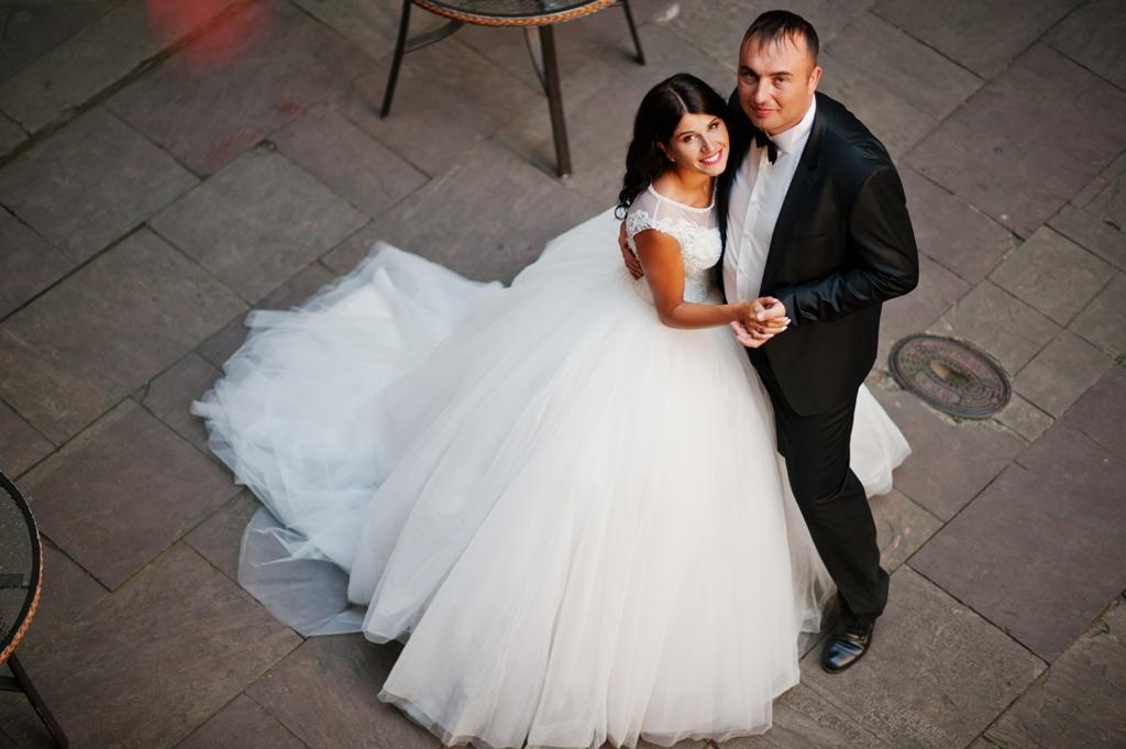 drone em ensaios de casamento